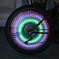 Новая Мода Велосипед 32 Светодиодов 32 Шаблоны Красочные Флэш Колеса Спиц Велосипеда Колеса Прохладный Украшения Мигающий Свет