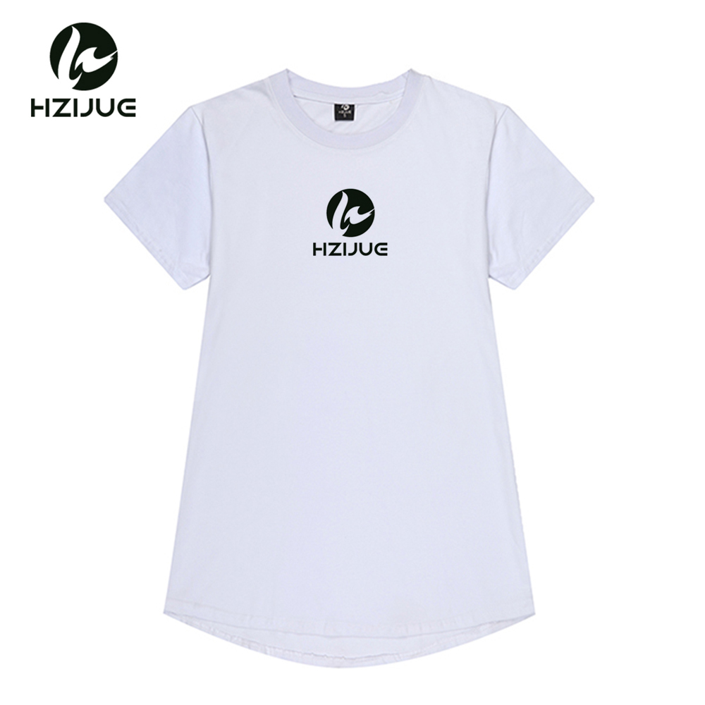 HZIJUE 2018 New Letter Logo Print T Shirt Mens camel/gray/black/khaki/white male o neck T-shirts Summer Skateboard Tee Boy Skate