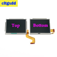 cltgxdd high quality Top Upper / Bottom Lower LCD Display screen For Nintendo N D S i Component repair Replacement все цены