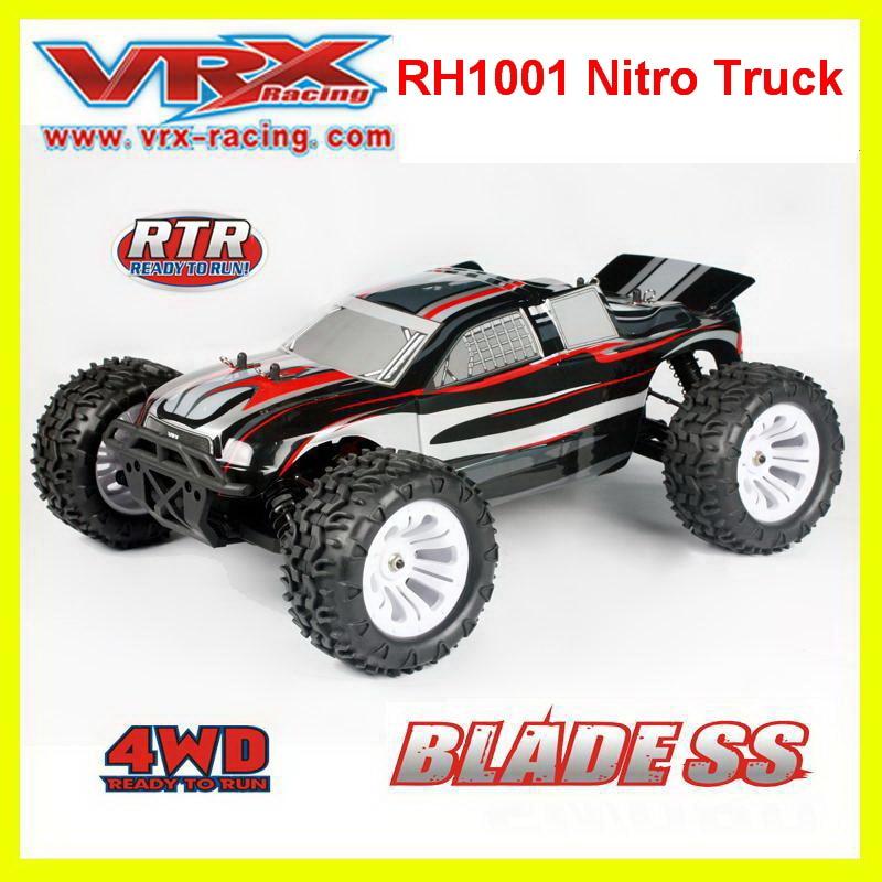 VRX Racing RH1001 nitro Truck 1 10 Scale 4WD Nitro Powered RC Car FC 18 Engine
