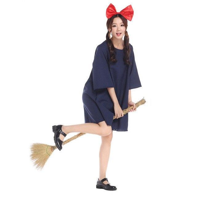 Anime Kiki's Delivery Service Cosplay Women Fancy Dress