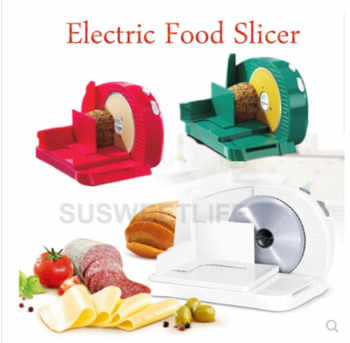 110V/220VElectric Meat Slicers Frozen Beef Mutton Roll Stainless Steel Mincer Vegetable Cutting Machine Adjust Thickness Kitchen - DISCOUNT ITEM  14% OFF All Category