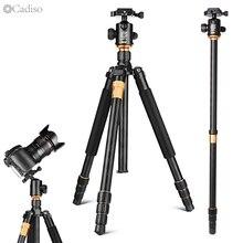 Cadiso Q999 プロカメラポータブル観光三一眼レフカメラ三脚キット一脚スタンドボール雲台一脚一眼レフカメラ