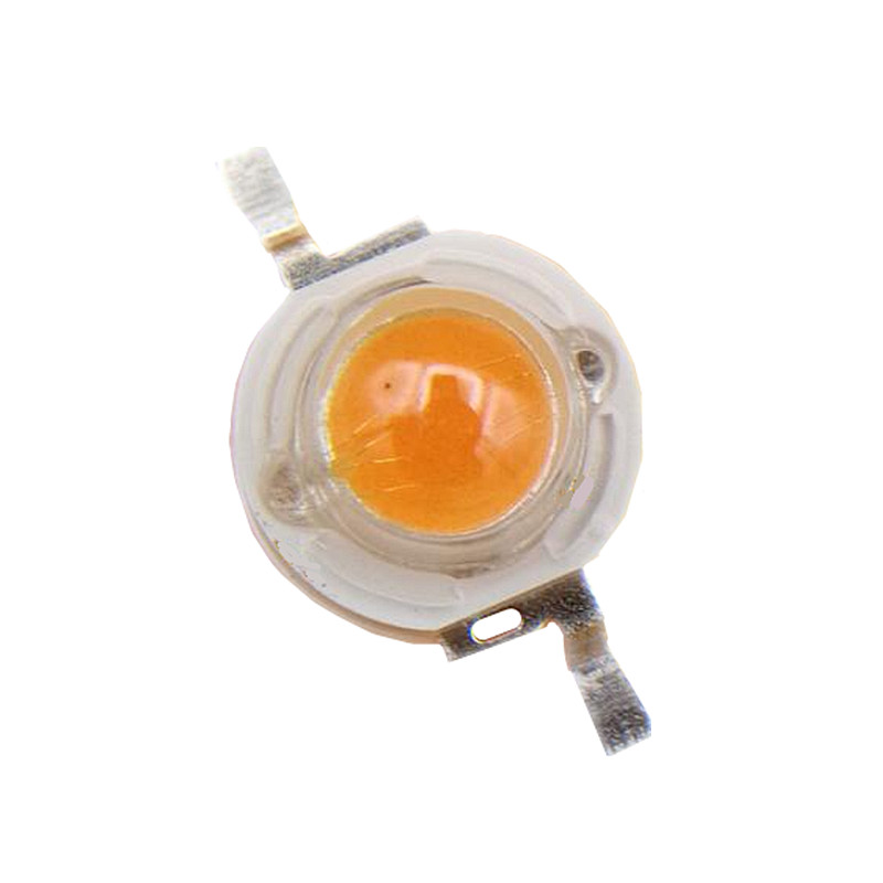 100pcs 5W high power led bead Lamp plant grow diodes light Bulb full spectrum 400 840nm