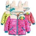 Venta ropa de invierno abrigo chaqueta wadded chaqueta de algodón acolchado bebé pequeñas ploughboys + envío gratis