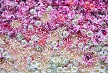 Laeacco Flower Blossom Portrait Scene Baby Children Photography Backgrounds Customized Photographic Backdrops For Photo Studio