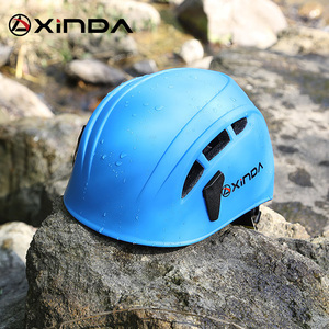 Image 2 - Xinda في الهواء الطلق تسلق الصخور انحدار خوذة أدوات إنقاذ الجبال speleology لتوسيع خوذة أمان رضوخ العمل خوذة