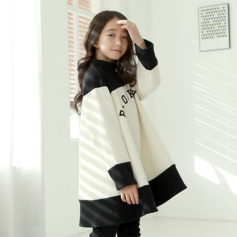 2016 girls wear font b dresses b font children s cashmere font b dress b font