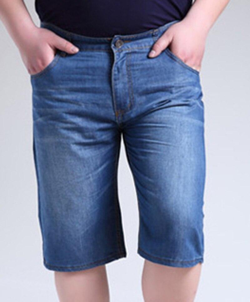 Big Size Men's Jeans Shorts L-11XL. Casual Cotton Man's Loose Knee Length Jeans. jeans para hombres, pantalones cortos