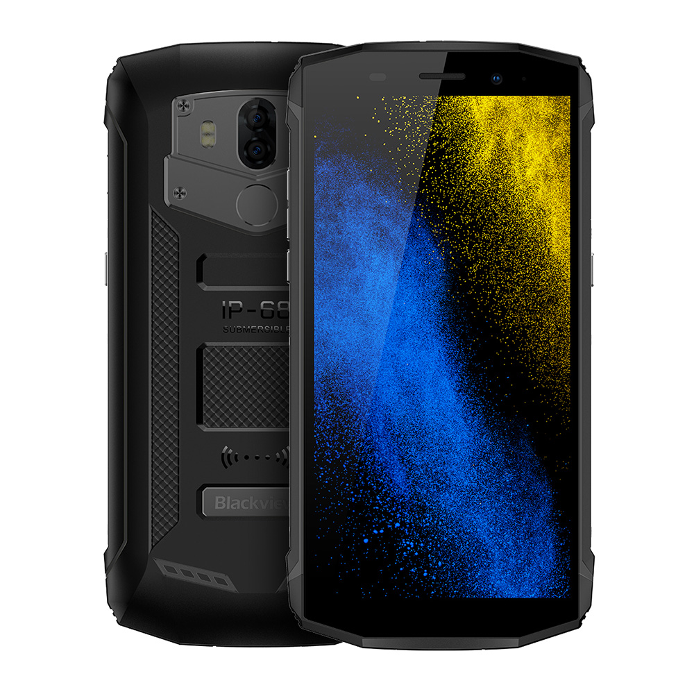 Blackview BV5800 PRO 4G Android 8.1 5.5'' MT6739 Quad Core 2GB 16GB 13.0MP+0.3MP 5580mAh Wireless Charging Mobile Cellphone
