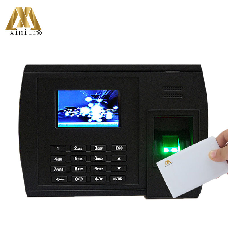 Biometric XM228 Fingerprint &13.56MHZ IC Card Reader Time Attendance With Free Software And SDK Fingerprint Recognition Machine