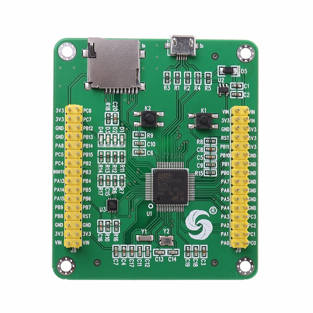 Hot Sale Stm32 Stm32f405rgt6 Stm32f405 Usb Io Core Micropython Integrated Circuits Microcontrollers Development Breadboard Module