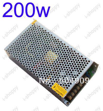 200W 16A Universal Regulated Switching Power Supply /Transformer /Adapter,100~240V AC Input,12V DC Output, for CCTV LED Strips image