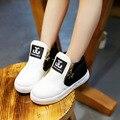 Sapatos meninos Meninas Moda Tornozelo Botas Novas Crianças Chegada do Outono Martin Botas Crianças Sapatos Casuais com Zíper CSH047