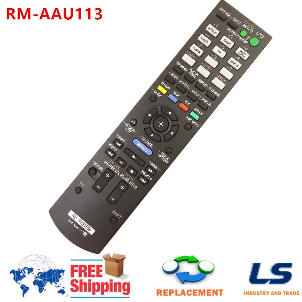 Remote Control for Sony RM-AAU113 Home Theatre System HT-CT550W HT-SS380 148941211