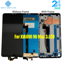 6.9 Original LCD For XIAOMI Mi Max 3 LCD Display Touch Screen Digitizer Assembly with Frame Tempered Glass+Tools+TPU