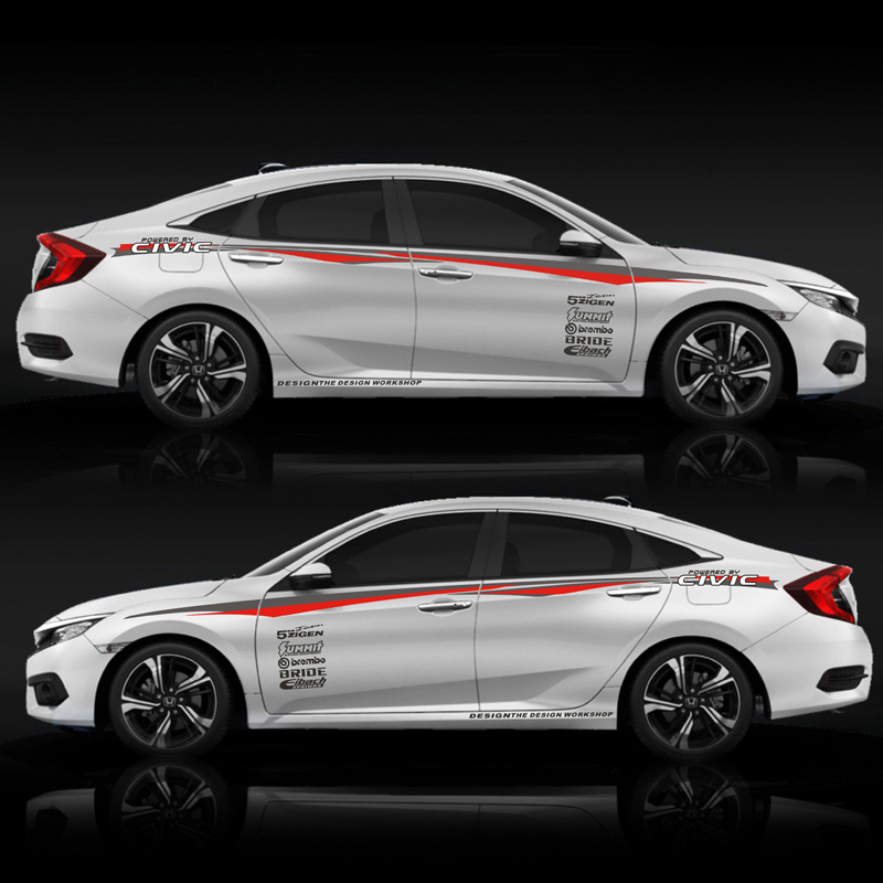 TAIYAO car styling sport car sticker For Honda CIVIC car accessories and decals auto sticker