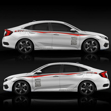 цена на TAIYAO car styling sport car sticker For Honda CIVIC car accessories and decals auto sticker