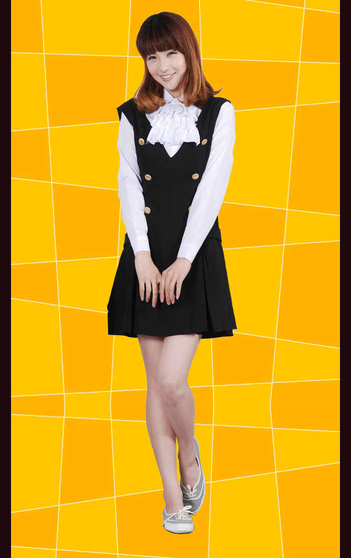 d107df11ca6 ... Ину х Boku SS Shirakiin Ririchiyo Косплэй Костюм ину х Boku Secret  Услуги полный набор платье ...
