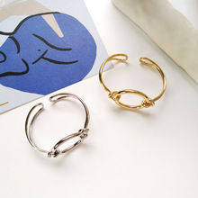 Individual character trend metal design  women cuff fashion jewelry bangle bracelet