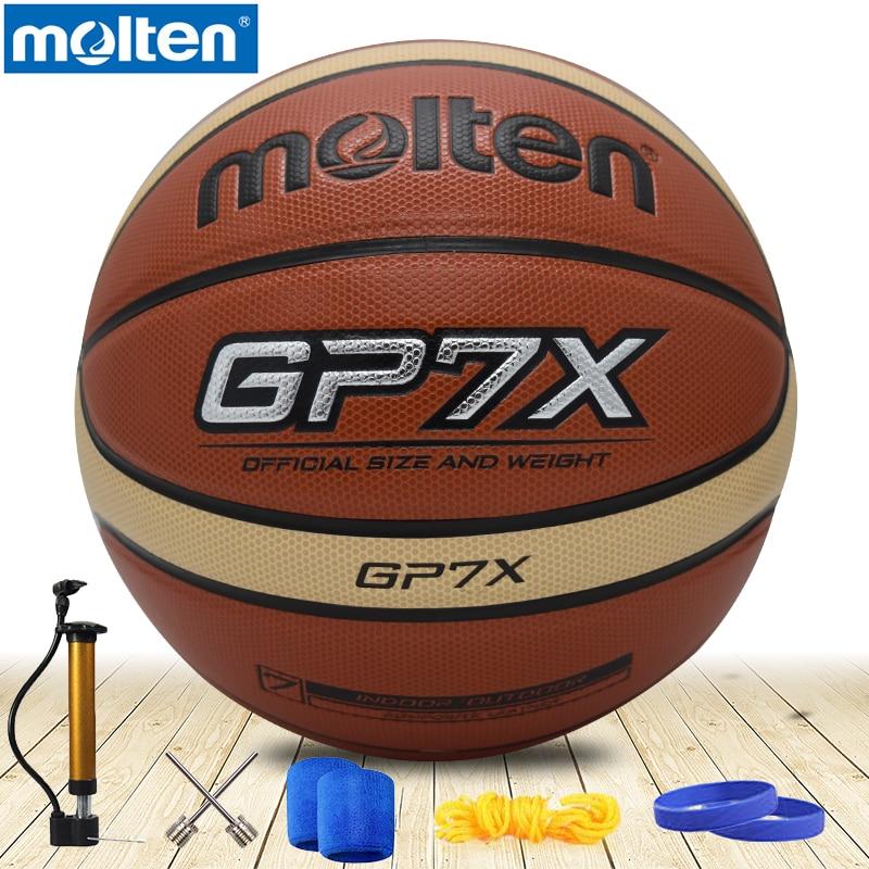 Original Molten Basketball Ball GP7X NEW Brand High Quality Genuine Molten PU Material Official Size7 Basketball