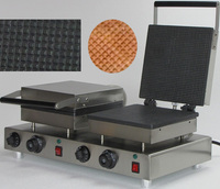 Electric double head  egg waffle maker_cone waffle maker
