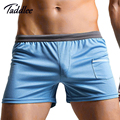 Taddlee marca sexy men underwear boxer shorts trunks alta calidad mens boxers underwear gay pene bolsa shorts bottoms nueva