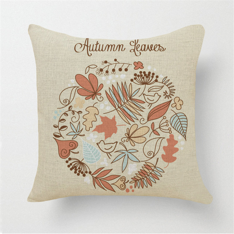 Sweet Child Cushion cover Home Decorative Cojines Sofa tropical Throw Pillow Printed Cotton Linen Square Fundas Cheap