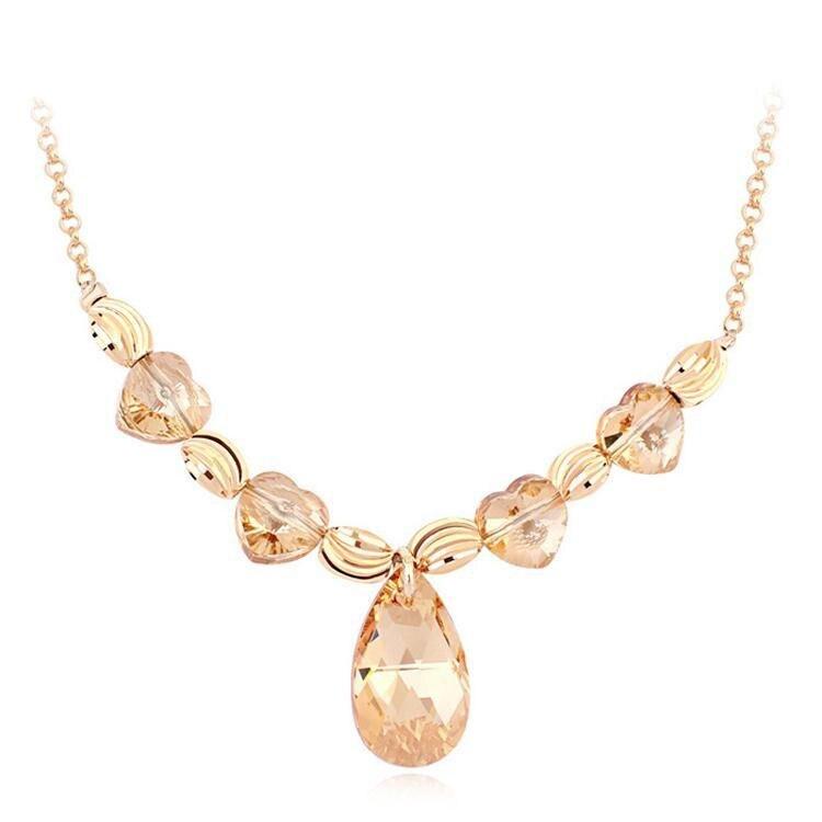 2015 Declaración de La Vendimia Collar de SWAROVSKI ELEMENTS Collares y  Colgantes de Cristal con SWAROVSKI