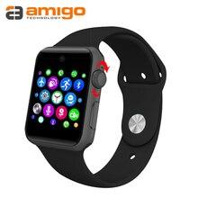 Kostenloser Versand Smart Uhr Sync Notifier Mit Sim-karte sport smart gesundheit smartwatch Für apple iphone huawei Android Telefon