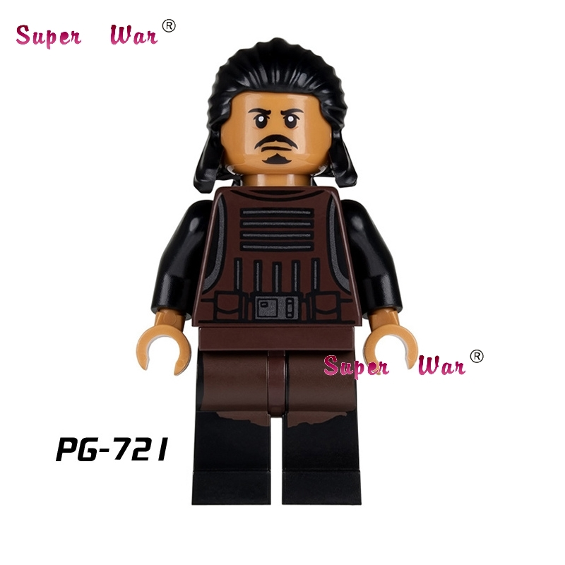 1PCS star wars super heroes marvel dc comics Tasu Leech First Order building blocks models bricks toys for children kits