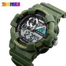 SKMEI Military Sports Watches Men Outdoor Digital Watch Fashion Alarm Chronograph Waterproof Male Wristwatches Relogio Masculino все цены