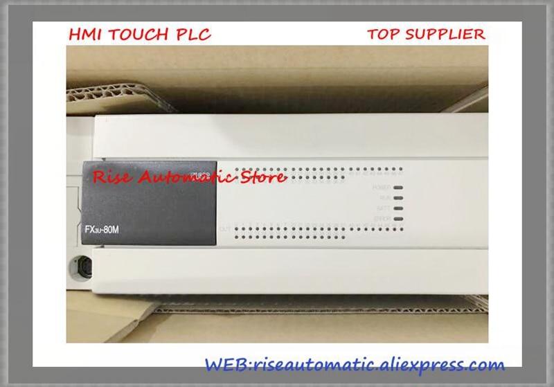 FX3U-80MR/ES-A PLC Main Unit DI 40 DO 40 Relay 100 to 240V AC New OriginalFX3U-80MR/ES-A PLC Main Unit DI 40 DO 40 Relay 100 to 240V AC New Original