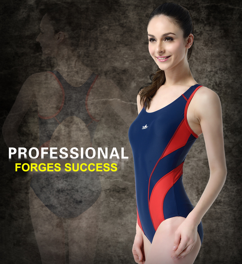 Fashion Bathing Suit Slimming Training Swimsuit One Piece 2018 Swimwear Women Arena Competitive Swimming Suit for Triatlon Mujer(China)