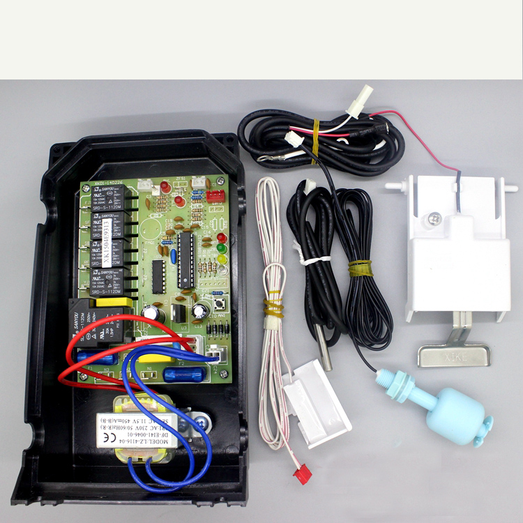 Flowing ice machine computer board motherboard control board controller with four sensorsFlowing ice machine computer board motherboard control board controller with four sensors