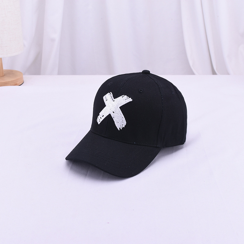 Children's Baseball Cap X Letter Leisure Travel Outdoor Sun Hat Fashion Tide Cap Boys Girls Hat Baby Snapback Sun Visor(China)