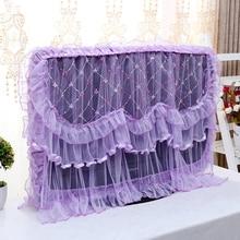 Тканевый чехол для телевизора Универсальный пылезащитный чехол кружевной подвесной чехол для телевизора