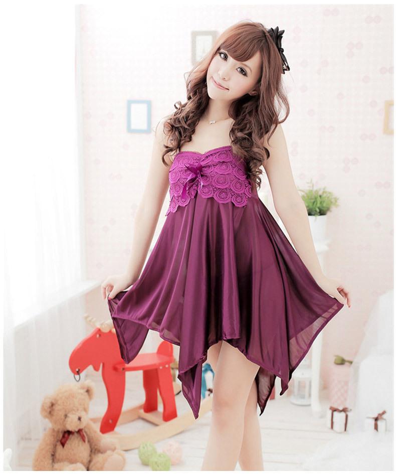 cf4b7f36f8 OUIRRY Brand Summer Sleep Lounge Women Sleepwear Nightgowns Sexy ...