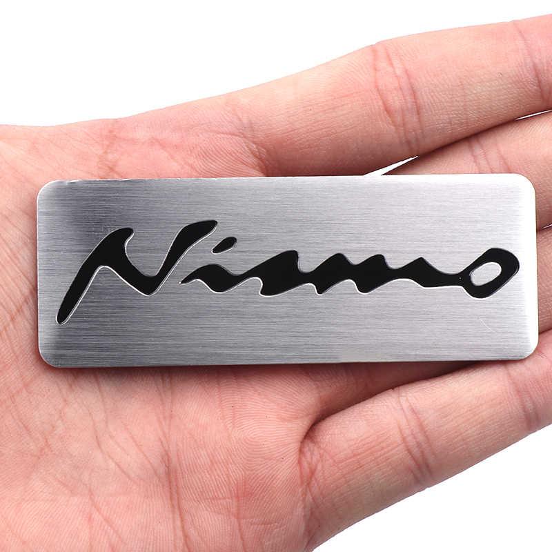 Paduan Aluminium Nismo Auto Mobil Nismo Lencana Lambang Stiker untuk Nissan Tiida Teana Cakrawala Juke X-Trail Almera Qashqai mobil Styling