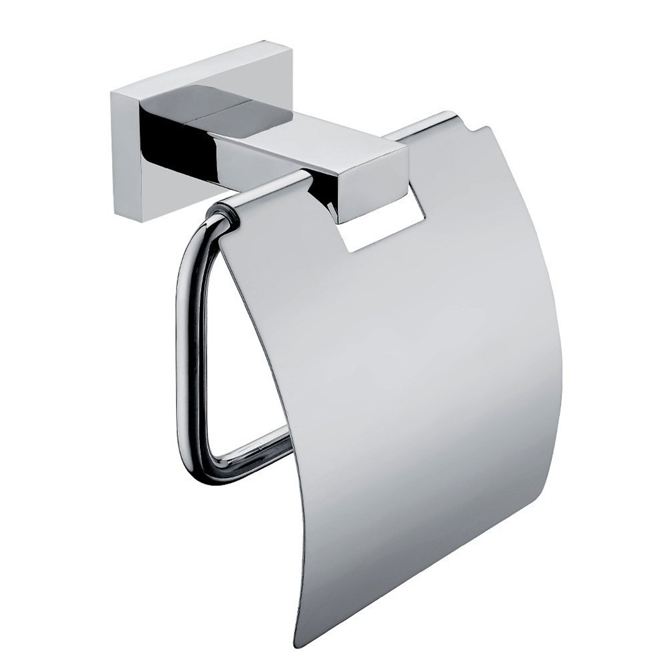 Us 20 24 46 Off Leyden Toilet Roll Holder Stainless Steel Paper Wall Mounted Chrome Towel Dispenser Bathroom Accessories In