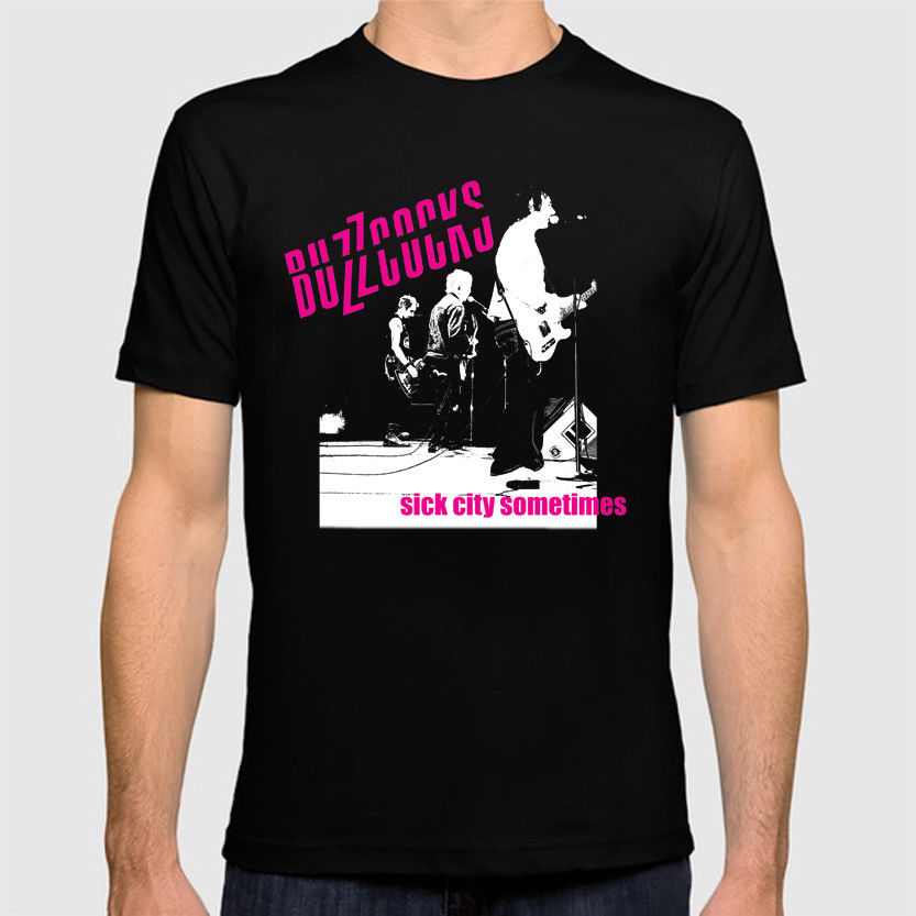 The Buzzcocks Sick City Sometimes T Shirt