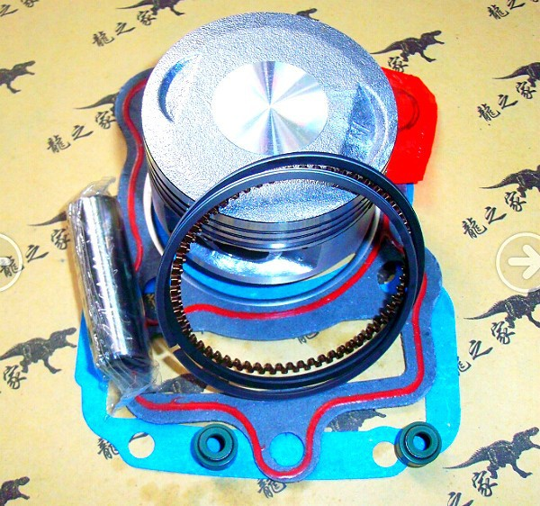 Free Shipping CG200 CG196 CG197 CG198 Motorcycle Motorbike Scooter Piston Ring Set Gaskets Kit For ZONGSHEN <font><b>LIFAN</b></font> LONGXIN image