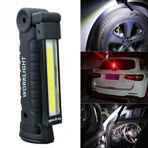 Torch Inspection Light Lamp for Auto Repair with Strong Magnets Camping  Emergency d1096267b426