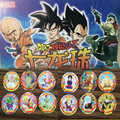 52 pcs/lot Dragon Ball Z Action Figures Cards Goku New Round Paper Card Collection Card Kid Gift Toy