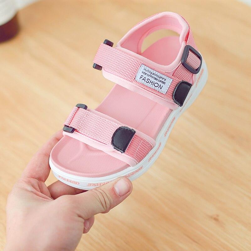 Zaizaile 2018 Letnie dzieci Czarny sneaker Sandal Baby Boy Pu - Obuwie dziecięce - Zdjęcie 5