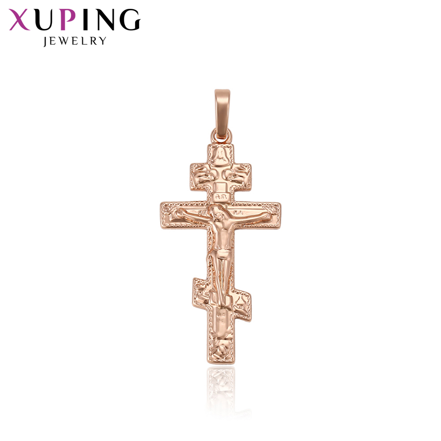 Xuping Classic Aesthetic Cross Model New Products Sliding Pendant for Lady Christmas Gift S120,9-33039