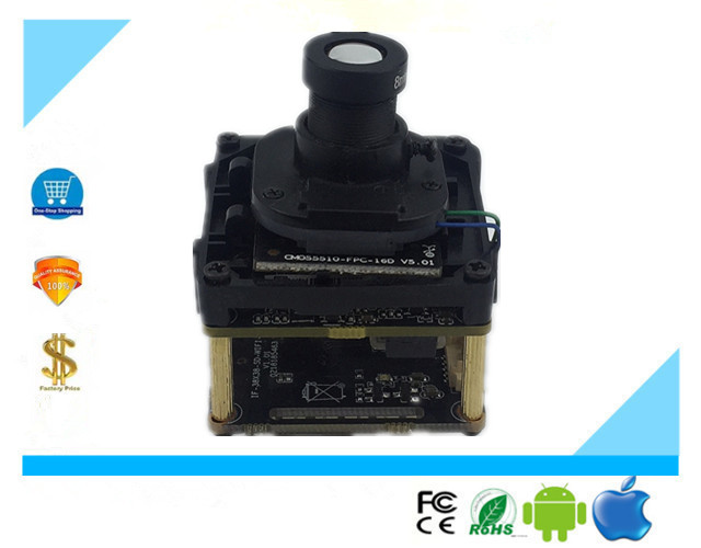 WIFI Wireless IP Camera Module Board FishEye Lens 3516D PS5510 H 265 Intelligent Analys 5 0MP