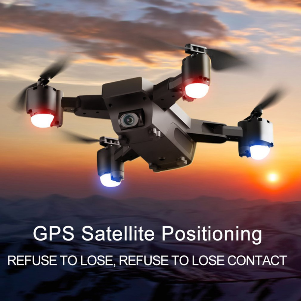 C FLY Dream 5G Altitude Hold Drone GPS Optical Flow Positioning Follow Me RC Quadcopter with 720P HD Camera One Key Return - 5