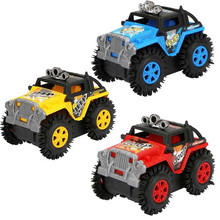 Car Creative Off-Road VehicleOff-Road Vehicle Transformation Stunt 4 Wheels Drive Jeep Electric W517