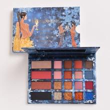 ROSAWEE Brand New Glitter Eyeshadow Palette Matte Eye Shadow Powder Highlight Contour Women Beauty Makeup Kits Maquiagem